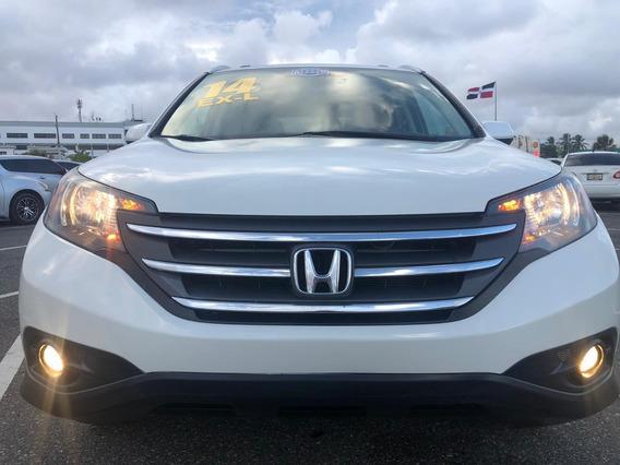 Honda Cr-v Clin Carfax 4x4 Exl