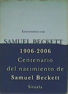 Encuentros Con Samuel Beckett, Samuel Beckett, Siruela