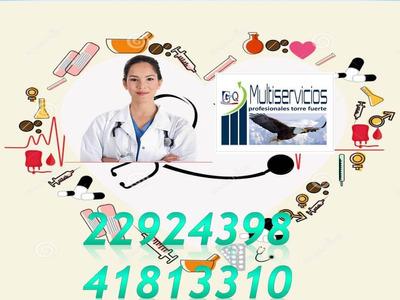 Enfermeras Para Cuidados En El Hogar Tel 41813310