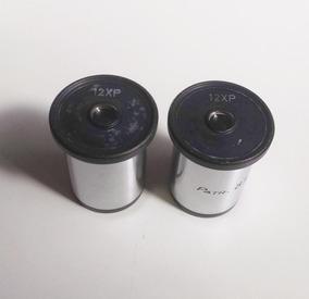 Kit Par De Oculares De Microscópio 12x 23mm