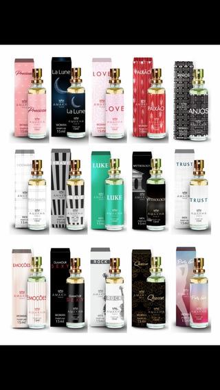 Kit 10 Perfumes Amakha Paris 15 Ml - Aproveita !!