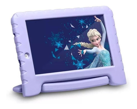 Tablet Infantil Frozen 16gb Wifi Camera Quadcore Android 8.1