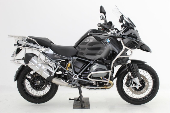 Bmw R 1200 Gs Adventure Triple Black 2018 Preta - Kit Baixo
