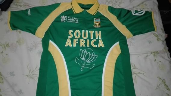 Camiseta Colección South Africa Icc Cricket World Cup 2007