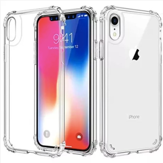 Carcasa Transparente Reforzada Protección iPhone Xr
