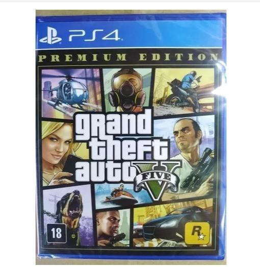 Lote Jogos Ps4 Gta V, Red Dead E The Crew Cliente Poda523599