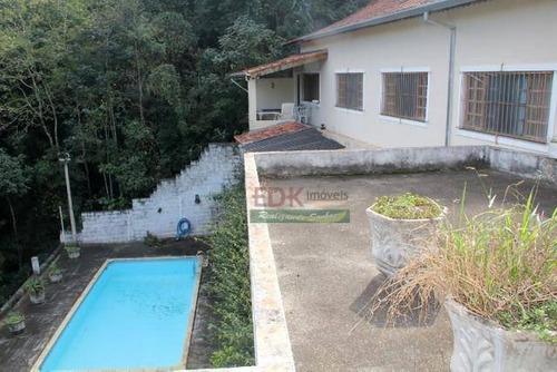 Imagem 1 de 10 de Chácara Com 2 Dormitórios À Venda, 900 M² Por R$ 530.000 - Centro - Igaratá/sp - Ch0452