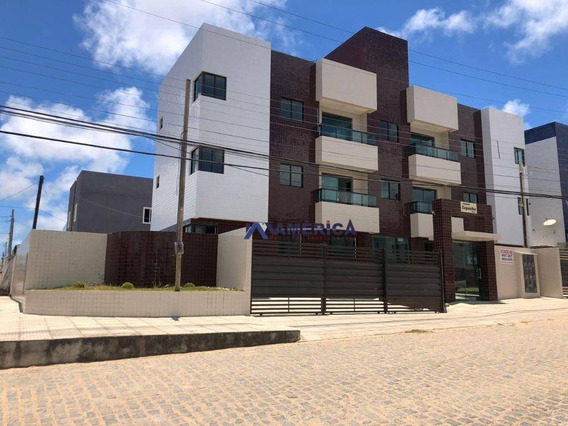 Oportunidade, Lindo Apartamento A Venda No Jose Américo, Com 2 Dormitórios Sendo 1 Suite. - Ap0414