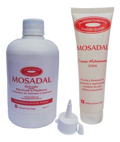 Emoliente Mosadal 500ml+ Creme Hidr. Uréia Melaleuca 100g