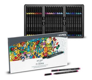 Lyra Art Pen Hi Quality - 50 Marcadores (no Faber Castell)