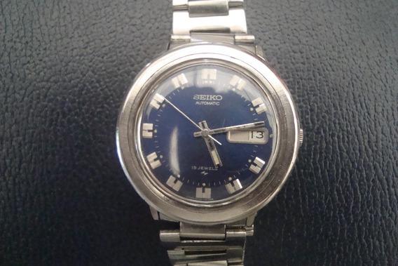 Relogio Seiko Azul Automatico Maq.8070