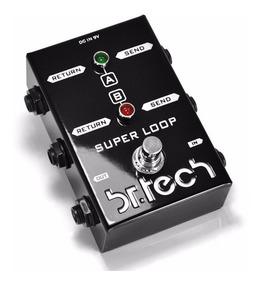 Pedal Super Loop A/b - Br Tech (line Selector) Novo Garantia