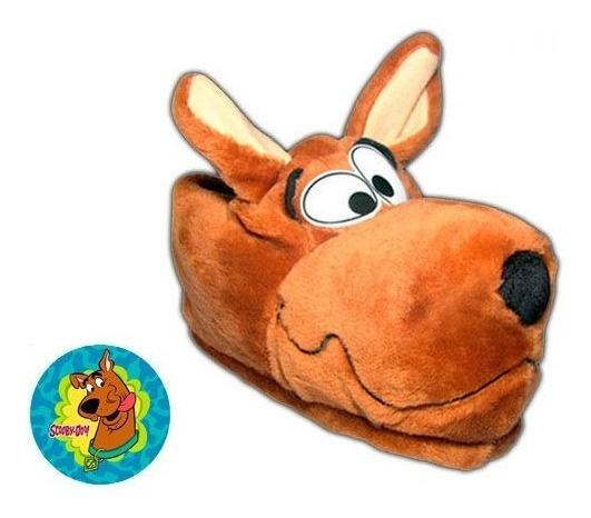 Pantuflas De Peluche Scooby Doo Super Divertidas !!!