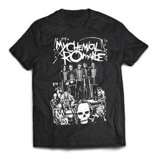 Camiseta My Chemical Romance Black Parade Band Rock Activit