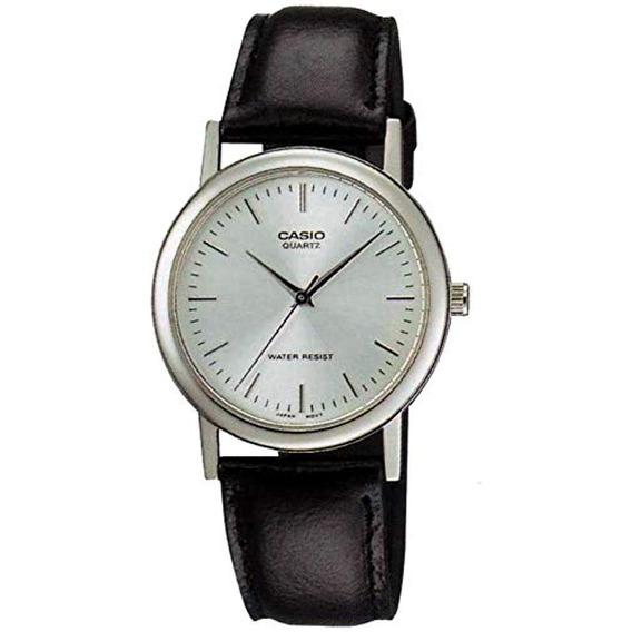 Casio Reloj De Cuarzo Cuero Negro Mtp1095e-7a