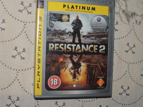 Resistance 2 - Ps3 Mídia Física Original