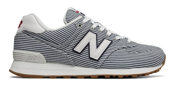 Zapatillas New Balance Ml574ylh - Azul/blanco
