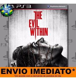 Jogo The Evil Within Ps3 Digital Psn Mídia Envio Imediato