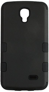 Asmyna Rubberized Tuff Hybrid Phone Protector Cover For LG L