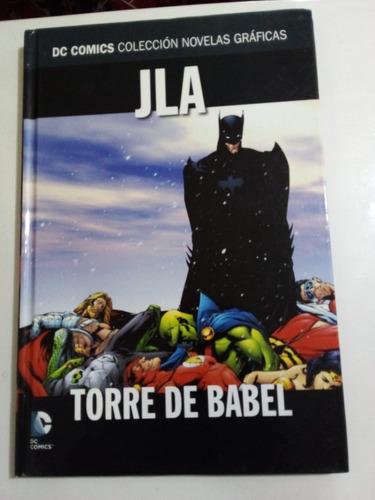 Jla Torre De Babel - Waid Johnson - Dc Comics 2016 - T. Dura