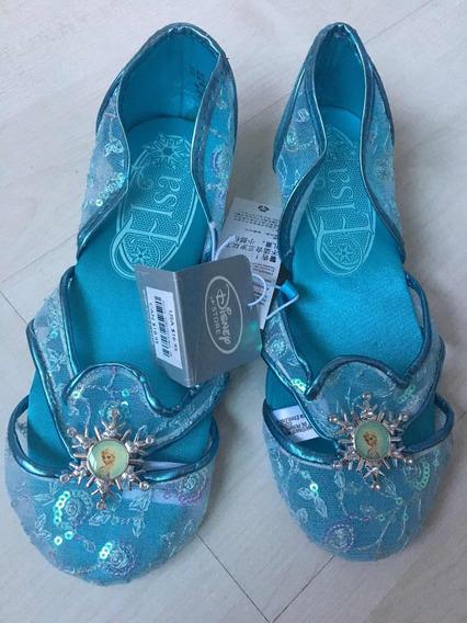 Sapatilha Sapato Elsa Frozen Novo Original Disney Store