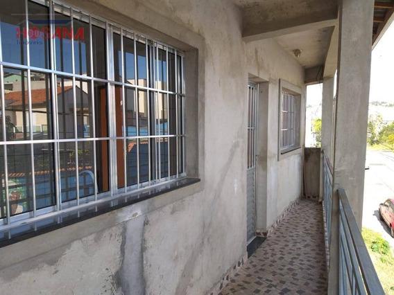 Casa Com 1 Dormitório Para Alugar, 36 M² Por R$ 600,00/mês - Jardim Luíza - Francisco Morato/sp - Ca0647