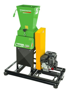 Picador De Palmas Motor Gasolina 3,5hp + Base Trapp Jk 500g