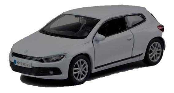 Welly Volkswagen Scirocco Escala 1:36 Bordo Gris Blanco