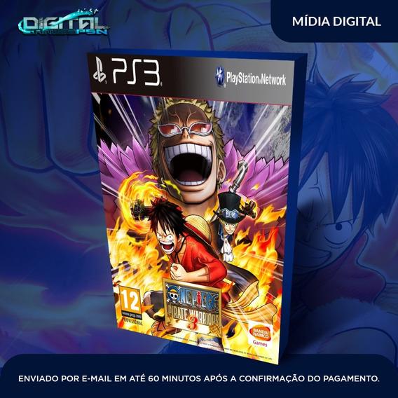 One Piece Pirate Warriors 3 Ps3 Game Digital Envio Já.