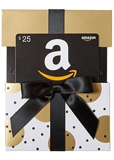 Tarjeta De Regalo De Amazon.com En Oro Revelado