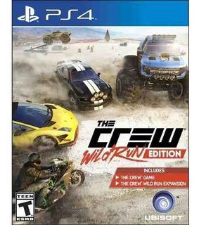 Juego Ps4 The Crew Wild Run Edition