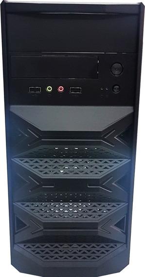 Pc Cpu Barato 4gb Hd160 Com Wi-fi Win7 + Vídeo 1gb + Frete