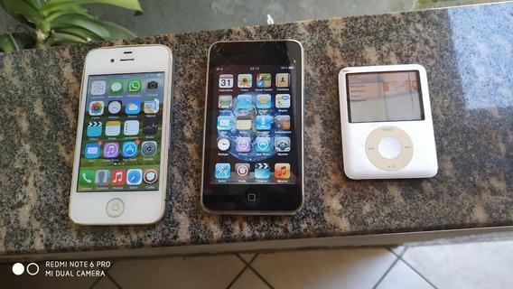 iPhone 4 iPod Touch 2 iPod Nano 3 - Todos Funcionando