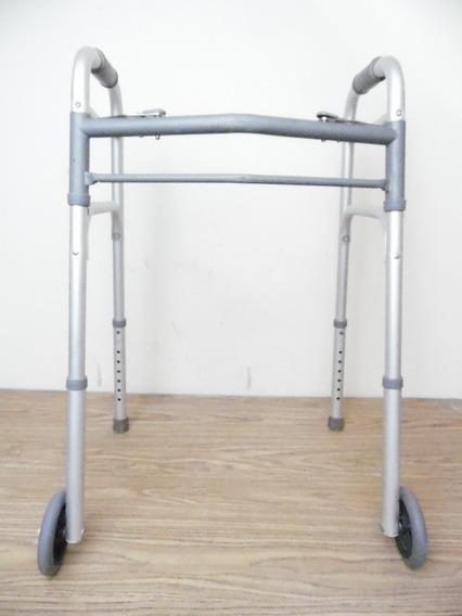 Andadera Caminadora Plegable Metalica Hasta 125 Kilos K318