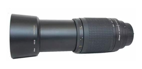 Lente Nikon Af Nikkor 70-300mm 1:4-5.6 G - Frete Grátis
