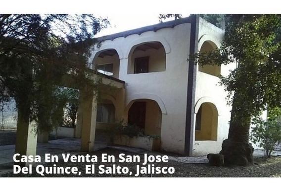 Casa Tipo Hacienda En San Jose El Quince