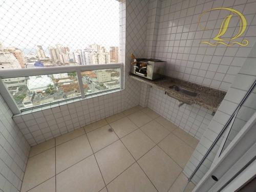 Imagem 1 de 26 de Apartamento Com 1 Dormitório À Venda, 51 M² Por R$ 265.000,00 - Aviação - Praia Grande/sp - Ap1202