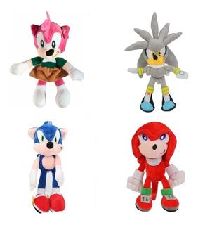 Peluche Sonic 28cm De Calidad! Precio X C/u