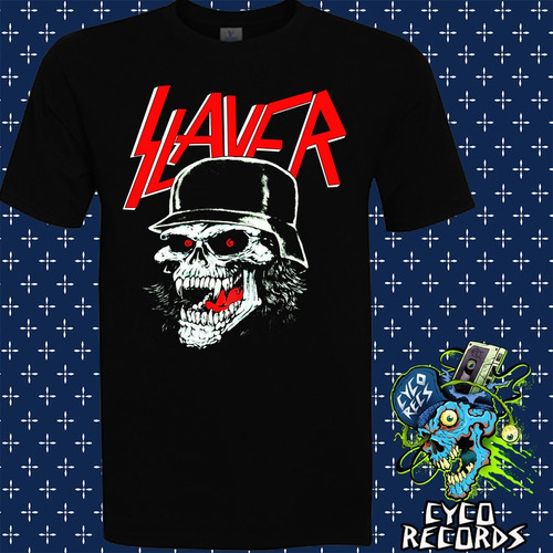 Imagen 1 de 3 de Slayer - Slatanic Whermatcht - Metal - Polera- Cyco Records