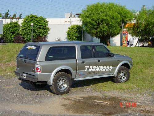 Imagen 1 de 7 de Cúpula Tronador Ford Ranger 98/2011 Ventanas Basculantes