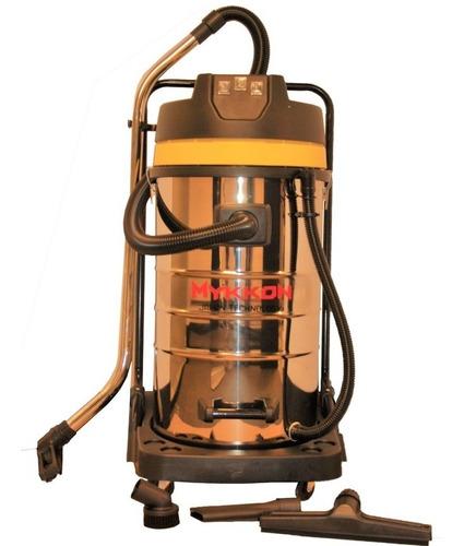 Aspiradora Industrial Polvo Agua 80 Litros 3 Motores Mykkon