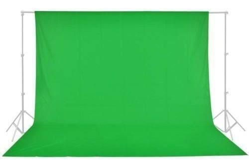 Tecido Fundo Infinito Algodão Muslin 5x3 Verde/preto/branco