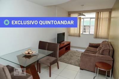 Apartamento Térreo Mobiliado Com 2 Dormitórios - Id: 892929144 - 229144