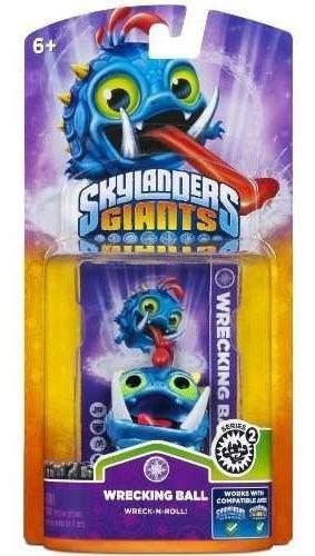Boneco Skylanders Giants Wrecking Ball Série 2 Nintendo Wiiu