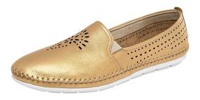 Zapato Casual Dama Flexi 35402 22 Y 26 Oro 75303 T1