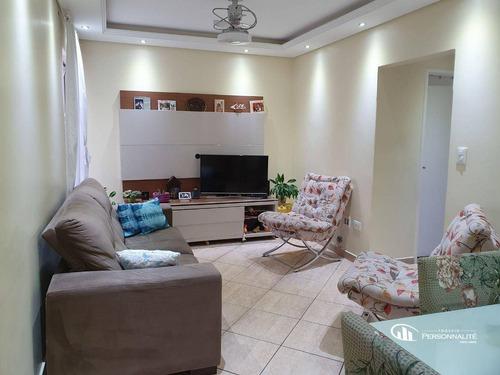 Imagem 1 de 10 de Apartamento Com 2 Dormitórios À Venda, 68 M² Por R$ 395.000,00 - Centro - São Bernardo Do Campo/sp - Ap1011