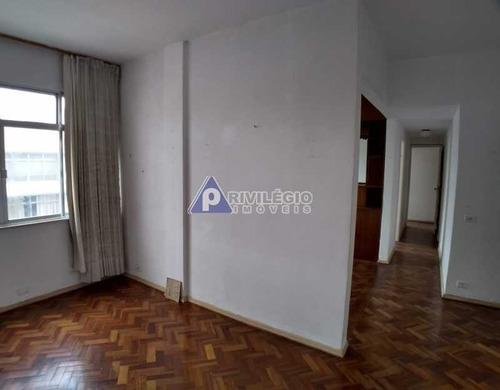 Apartamento À Venda, 3 Quartos, 1 Suíte, Copacabana - Rio De Janeiro/rj - 4428