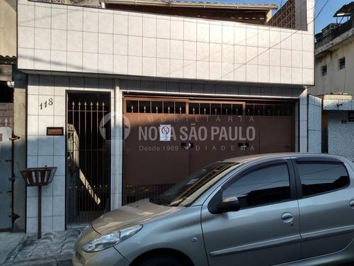 Casa À Venda Em Taboão - Ca000696