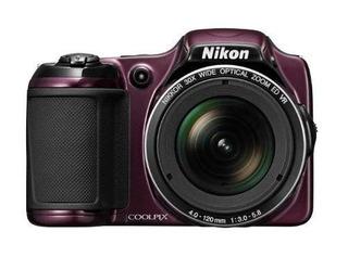 Nikon Coolpix L82016mp Cmos Cámara Digital Con 30x Lente