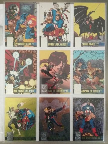 Amalgam Power Blast Le Set Marvel Vs Dc Trading Cards Covers